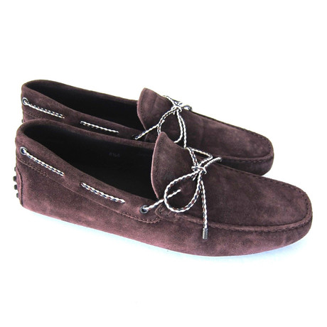 Suede Gommini Loafers // Brown (UK: 7)