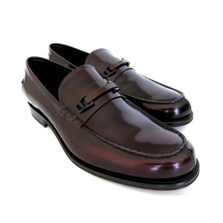 Morset Bordeaux Horsebit Loafers // Brown (UK: 7)