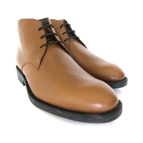 Polacco Leather Ankle Boots // Brown (UK: 7)