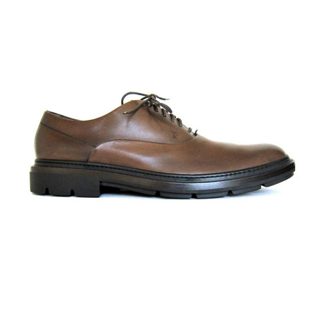 Francesina Leather Lace-up Shoes // Brown (UK: 7)