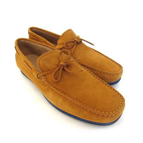 Laccetto Volpe Suede Loafers // Brown (UK: 7)