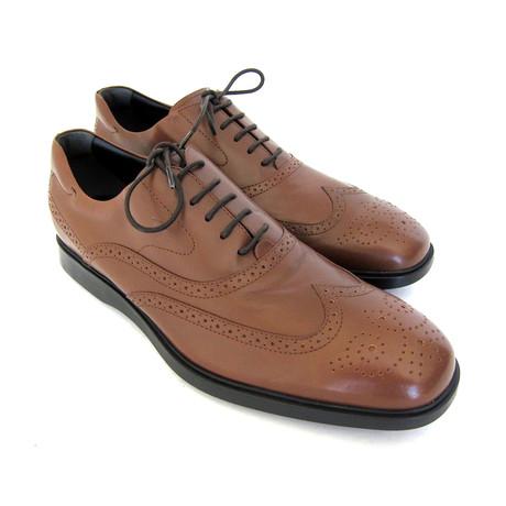 Francesina Wingtip Lace Up Shoes // Brown (UK: 7)