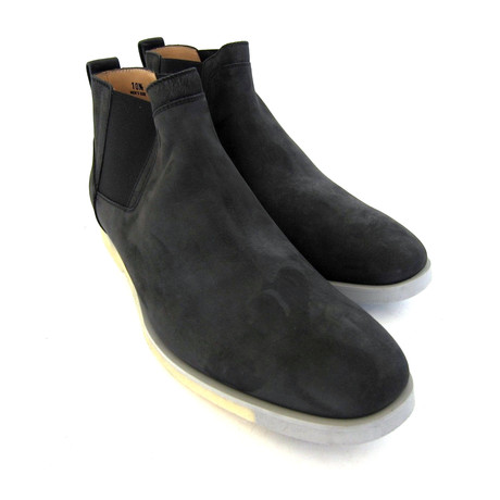 Tronchetto Suede Ankle Boots // Black (UK: 7)