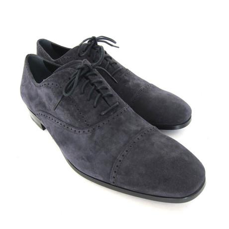 Allacciato Lace-up Shoes // Blue (UK: 7)
