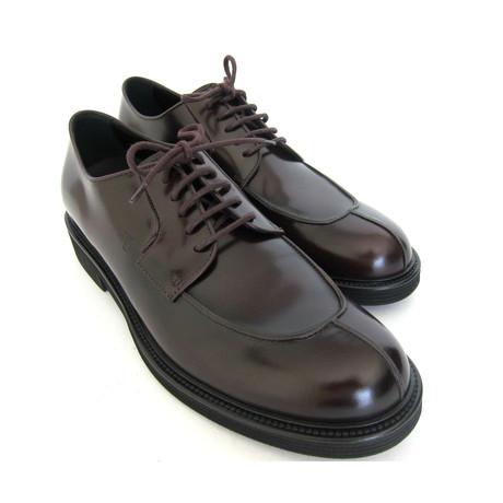 Allacciato Lace-up Shoes // Bordeaux (UK: 7)