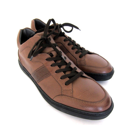Polacco Sport Leather Sneakers // Brown (UK: 7)