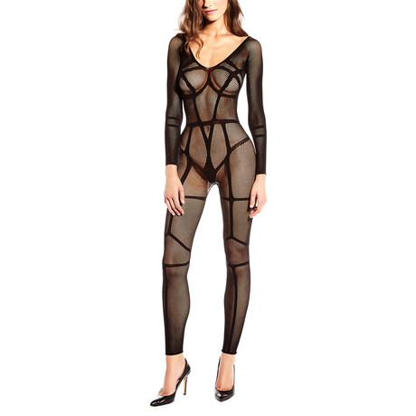 Linear Bodystocking // Black
