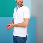 Beckett Polo // White (Small)