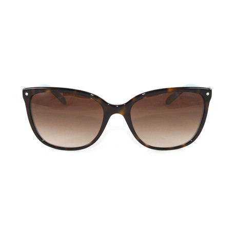 Tiffany & Co. // Women's TF4105HB Sunglasses // Havana Blue