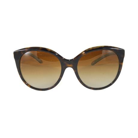 Tiffany & Co. // Women's TF4133 Polarized Sunglasses // Havana Blue