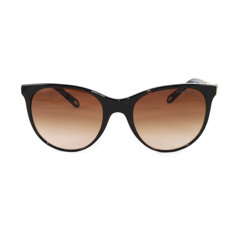 Tiffany & Co. // Women's TF4139 Sunglasses // Havana + Striped Blue