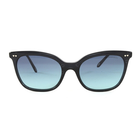 Tiffany & Co. // Women's TF4140S Sunglasses // Black + Silver