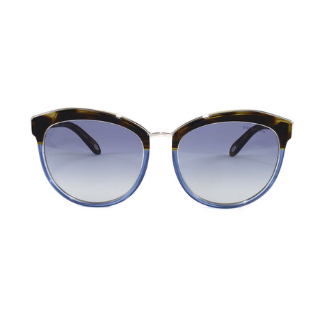 Tiffany & Co. // Women's TF4146 Sunglasses // Havana + Fading Blue