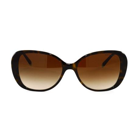 Tiffany & Co. // Women's TF4156F Sunglasses // Havana + Blue