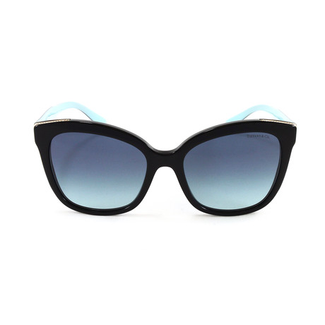 Tiffany & Co. // Women's TF4150 Sunglasses // Black + Blue