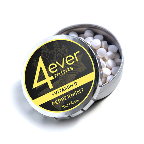 4everMints + Vitamin D // Peppermint // 100 ct