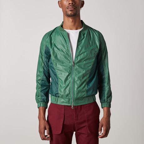 Avon Windbreaker // Green (XXS)