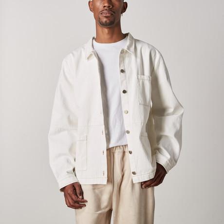 Domingo Denim Jacket // Cream (XXS)