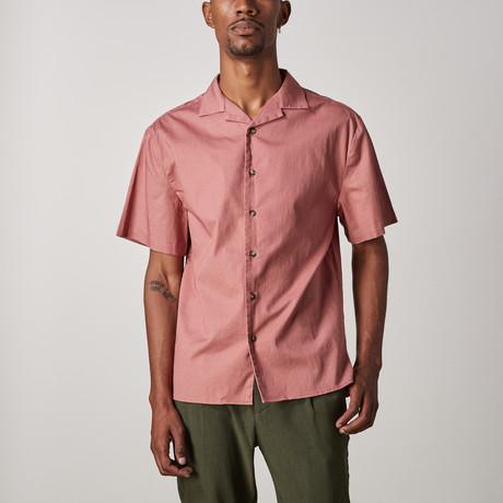 Eddie Camp Collar Shirt // Dusty Rose (XXS)
