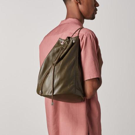 Apsley Backpack // Olive