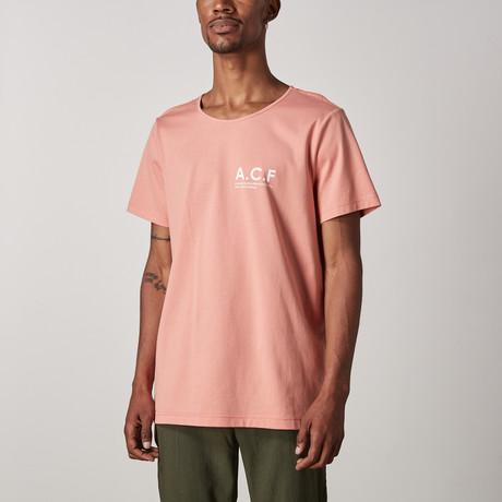 Felix Logo Tee // Pink (XXS)
