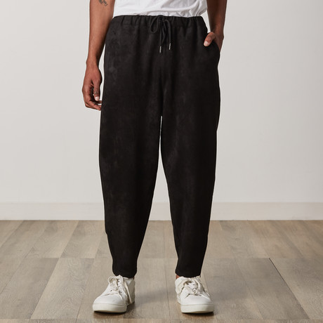 Flynn Tapered Sweatpants // Black (XXS)