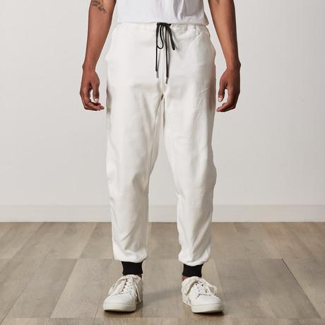 Gamin Slouch Trouser // White (XXS)