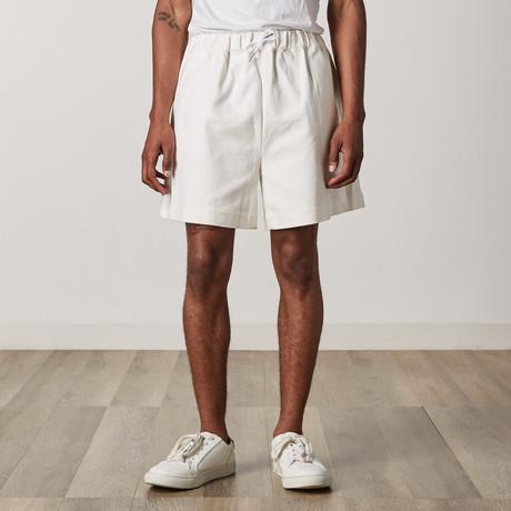 Gunnel Shorts // White (XXS)
