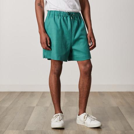 Gunnel Shorts // Green (XXS)