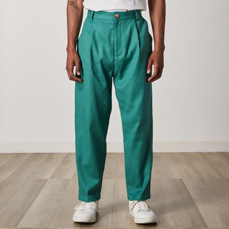 Germain Trouser // Green (XXS)