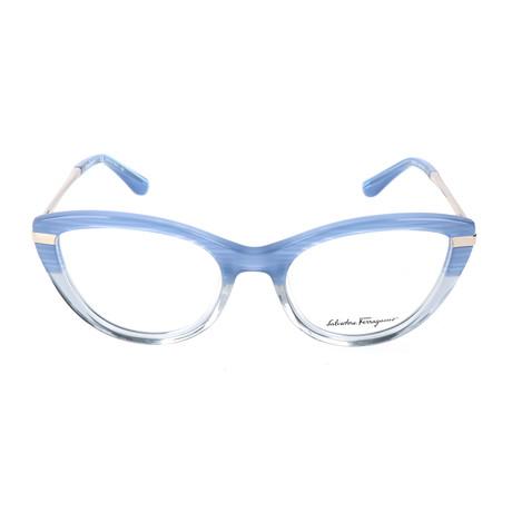 Women's SF2731 Frames // Striped Blue