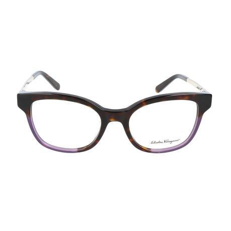 Women's SF2776 Frames // Tortoise Purple