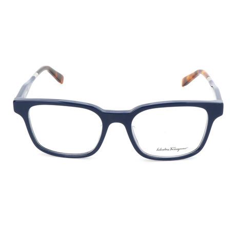 Men's SF2787 Optical Frames // Blue Havana