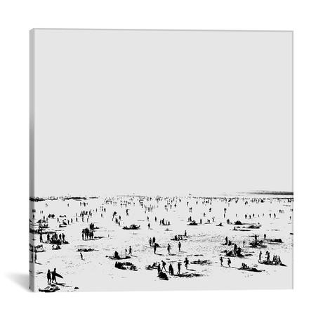 "Beachy I // Dan Hobday (18""W x 18""H x 0.75""D)"