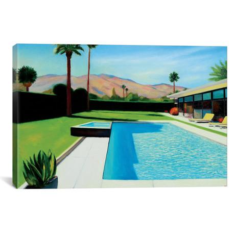 "Palm Springs Monday // Ieva Baklane (26""W x 18""H x 0.75""D)"