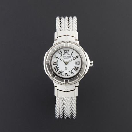 Charriol Ladies Quartz // CE426S.640.007 // New