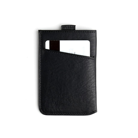 Flavio RFID Slim Card Wallet (Black)