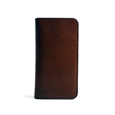 Roy Flip Case for iPhone // Brown (6/6S)