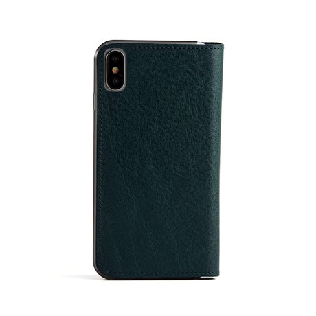 Roy Flip Case for iPhone // Dark Green (6/6S)