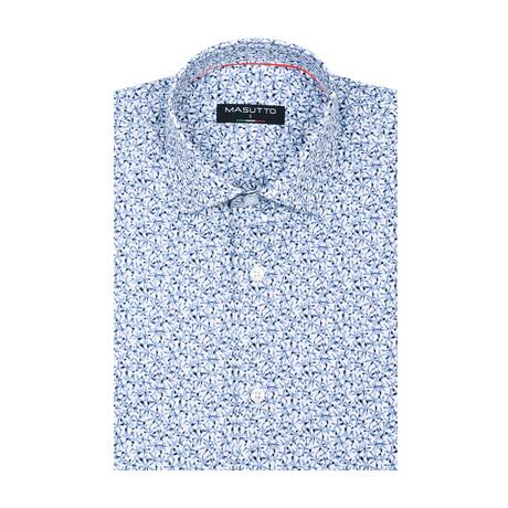 Dave Short Sleeve Shirt // Blue (XS)