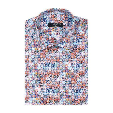 Atletico Short Sleeve Shirt // Multicolor (XS)