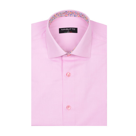 Lagos Short Sleeve Shirt // Pink (XS)