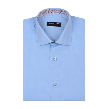Lagos Short Sleeve Shirt // Turquoise (XS)