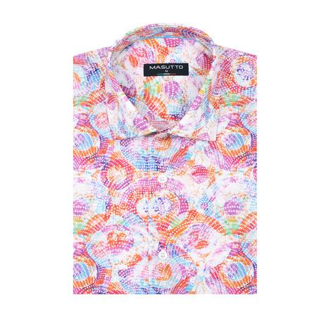 Paulo Short Sleeve Shirt // Multicolor (XS)