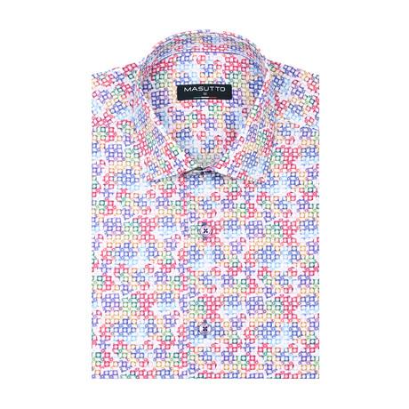 Pele Short Sleeve Shirt // Multicolor (XS)