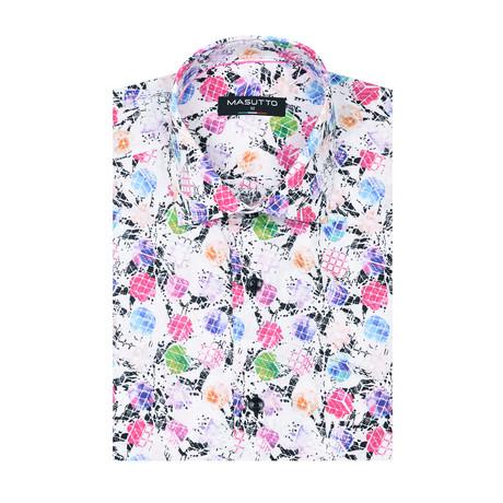 Santos Short Sleeve Shirt // Multicolor (XS)