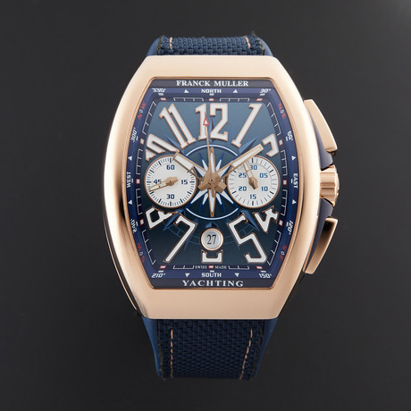 Franck Muller Yachting Chronograph Automatic // 45CCYACHTGLD