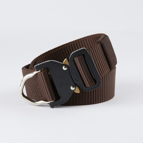 Bravo Utility Belt // Wolf Brown