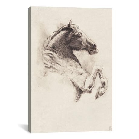 """Horse I (18""""W x 26""""H x 0.75""""D)"""