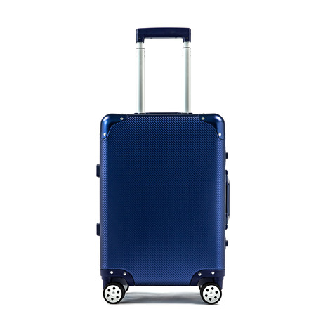 AL9 Aluminum // Navy // Carry-On